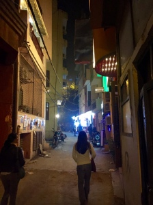 Walking the streets of Hauz Khas